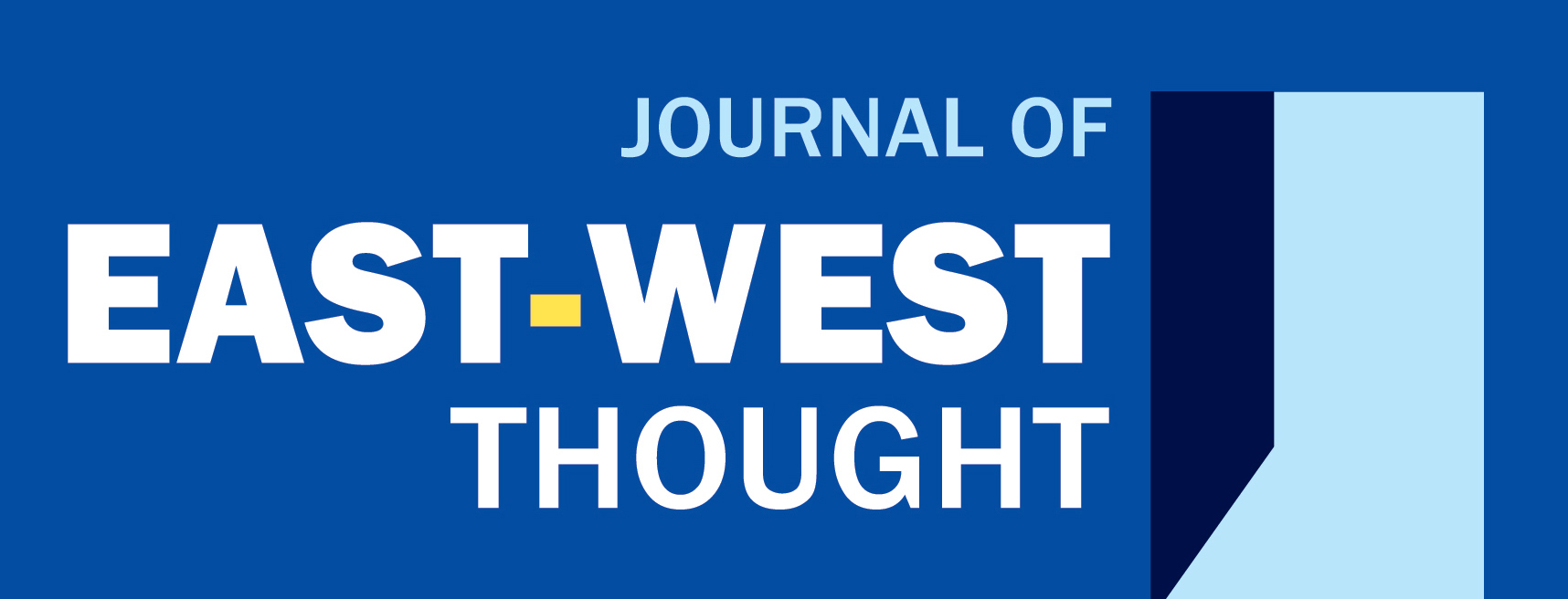 Journal of East-West Thought cover image